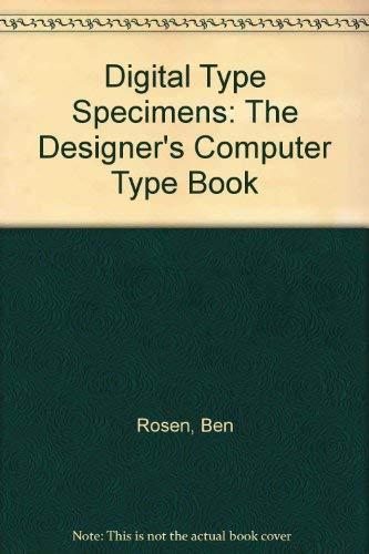 9780442235017: Digital Type Specimens