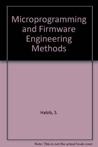 9780442235543: Microprogramming and firmware engineering methods