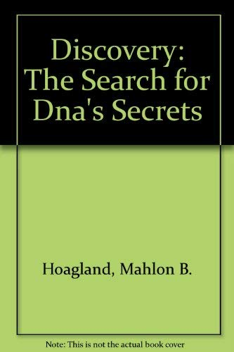 9780442236205: Discovery: The Search for Dna's Secrets