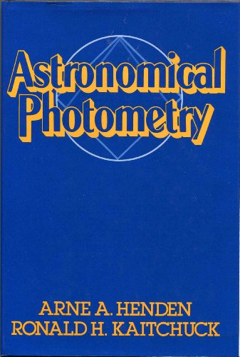 9780442236472: Astronomical Photometry