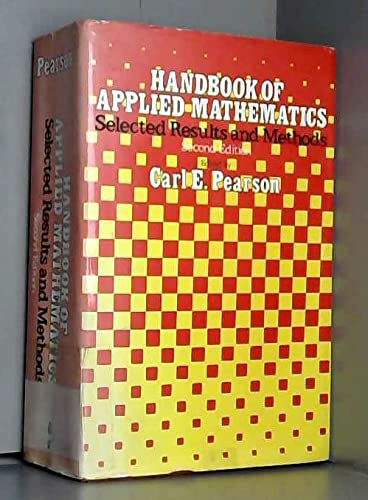 9780442238667: Handbook of Applied Mathematics: Selected Results and Methods