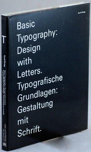 9780442239138: Basic Typography: Design With Letters. Typografische Grundlagen : Gestaltung Mit Schrift