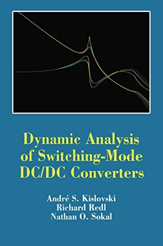 9780442239169: Dynamic Analysis of Switching-Mode Dc/Dc Converters