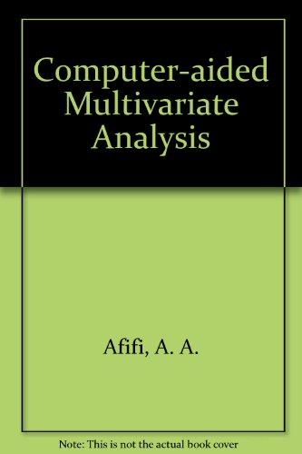 9780442239442: Computer-Aided Multivariate Analysis
