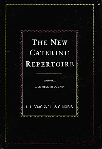 9780442239626: The New Catering Repertoire: Chef's Aide-Memoire