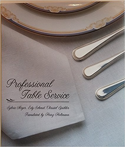 9780442239824: Professional Table Service