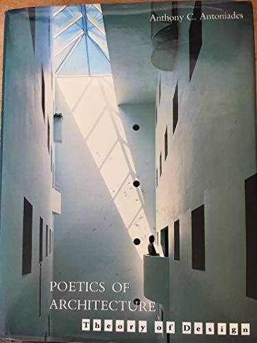 9780442239909: Poetics of Architecture: Theory of Design