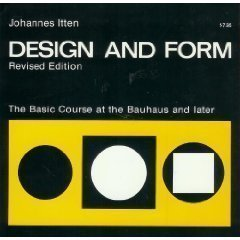 9780442240448: Design and form: The basic course at the Bauhaus and later [Paperback] by Itt...