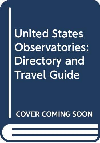 9780442244507: United States Observatories: Directory and Travel Guide