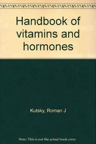9780442245498: Handbook of Vitamins and Hormones
