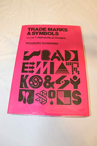 9780442245634: 001: Trademarks & Symbols: Volume 1: Alphabetical Designs