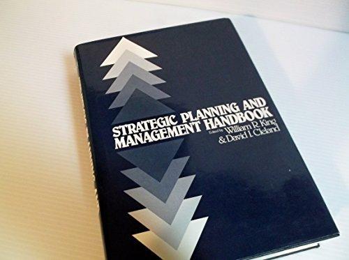 Strategic planning and management handbook: Van Nostrand Reinhold