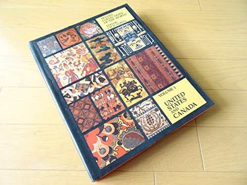 9780442248963: Title: Textile Collections of the World Vol I United Stat