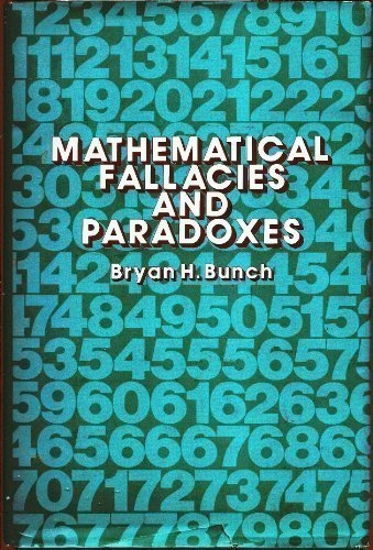 9780442249052: Mathematical Fallacies and Paradoxes