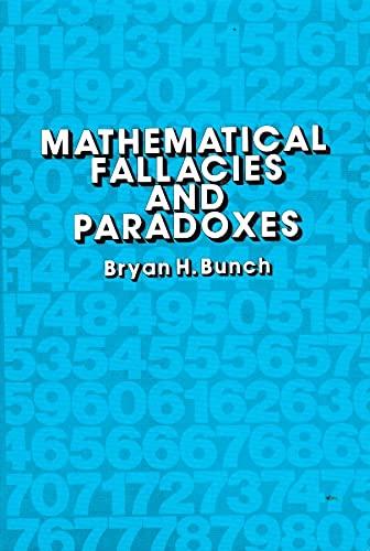9780442249052: Mathematical Fallacies and Paradoxes