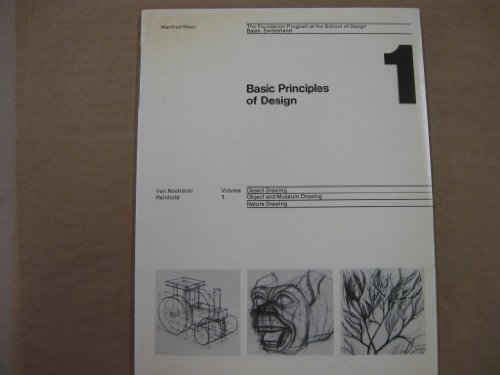 9780442249779: Basic Principles of Design: v. 1