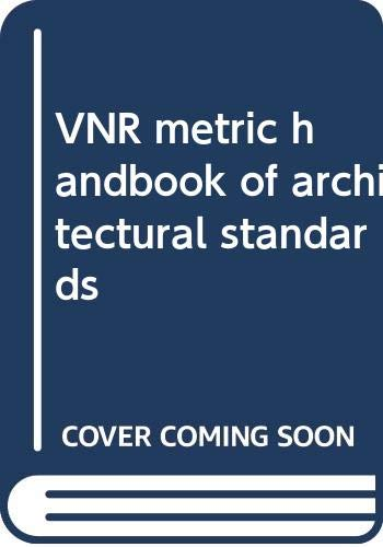 9780442251895: VNR metric handbook of architectural standards