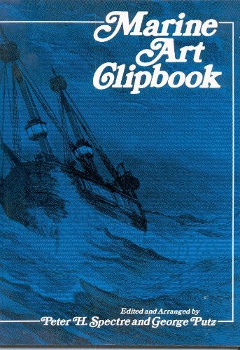 9780442251901: Marine Art Clipbook