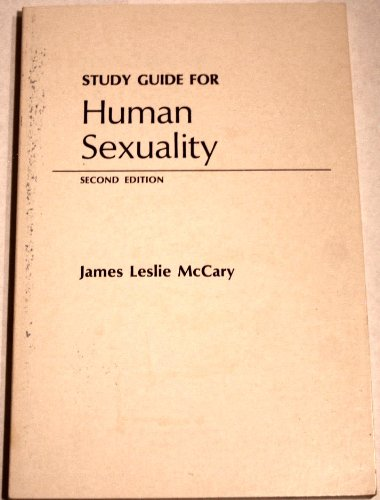 Study Guide for Human Sexuality: James Leslie McCary