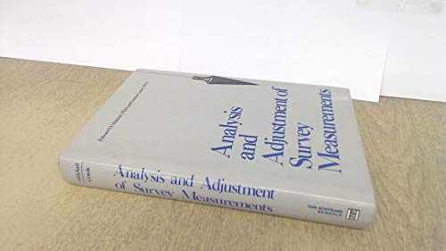 9780442253691: Analysis and Adjustment of Survey Measurements