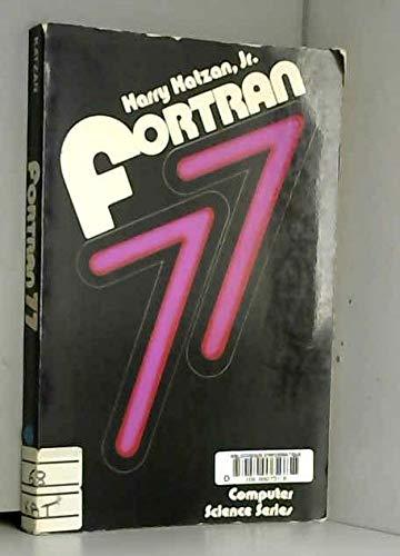 9780442254285: Fortran 77