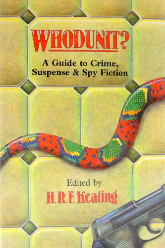 9780442254384: Whodunit: A Guide to Crime, Suspense, and Spy Fiction