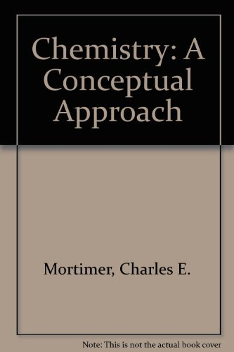 9780442255459: Chemistry: A Conceptual Approach