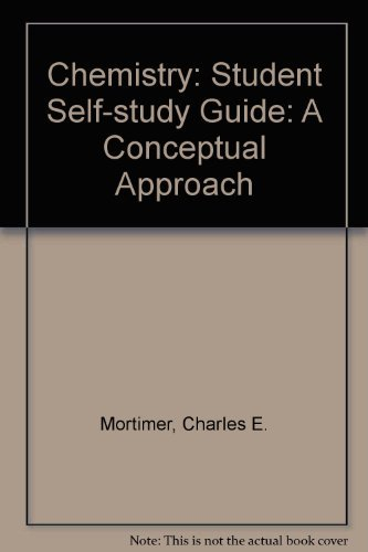9780442255480: Chemistry: Student Self-study Guide: A Conceptual Approach
