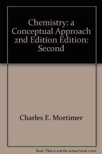 9780442255619: Chemistry: a Conceptual Approach 2nd Edition