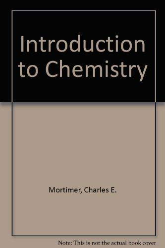 9780442255695: Introduction to Chemistry