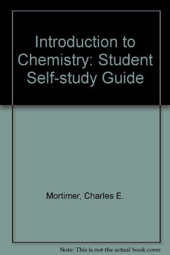 9780442255718: Introduction to Chemistry: Student Self-study Guide