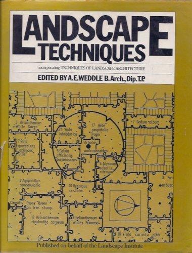 9780442256272: Landscape techniques: Incorporating Techniques of landscape architecture