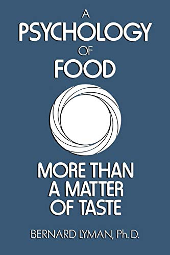 9780442259396: Psychology of Food: More Than a Matter of Taste