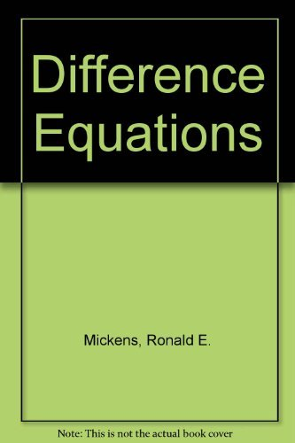 9780442260767: Difference equations