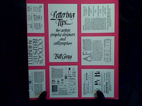 9780442261030: Lettering Tips: For Artists, Graphic Designers and Calligraphers