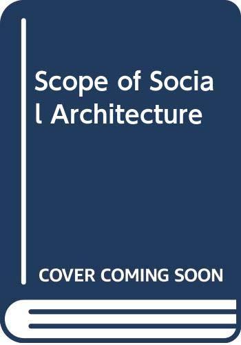 9780442261535: Scope of Social Architecture (Columns)