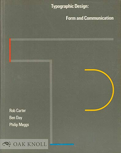 9780442261665: Typographic design: Form and communication