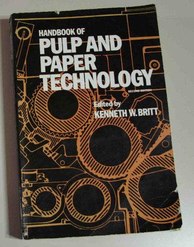 9780442261764: Handbook of Pulp and Paper Technology