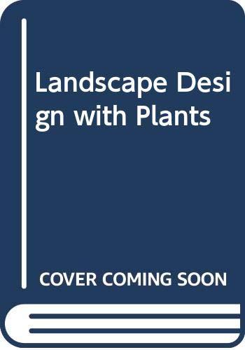 9780442261979: Landscape Design with Plants