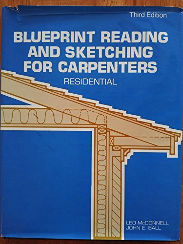 9780442262655: Blueprint Reading and Sketching for Carpenters--Residential