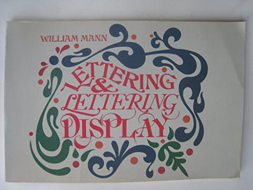 9780442263072: Lettering and lettering display