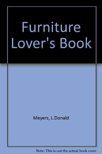 9780442263140: Furniture Lover's Book