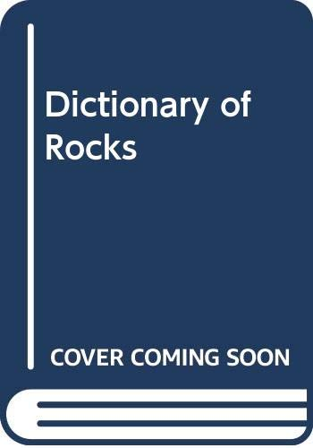 9780442263287: Dictionary of Rocks