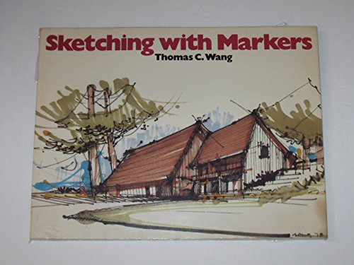 9780442263416: Sketching with Markers