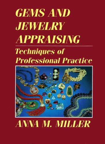 9780442264673: Gems and Jewelry Appraising: Techniques of Professional Practice