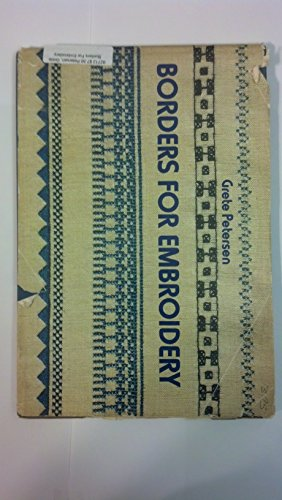Borders For Embroidery