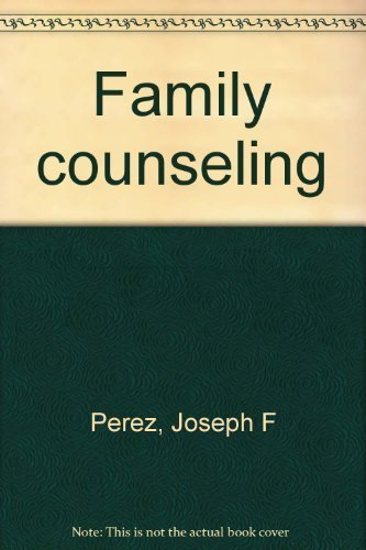 9780442265366: Family counseling