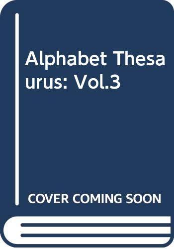 9780442270278: Alphabet Thesaurus, Vol. 3: A Treasury of Letter Design
