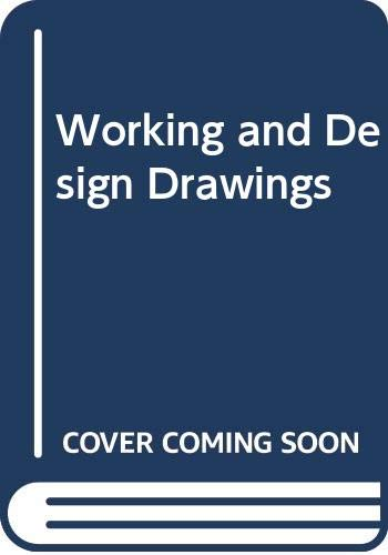 9780442270728: Working and Design Drawings (Architecture)
