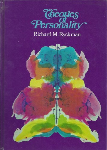 9780442271077: Theories of Personality (DVN series in psychology)